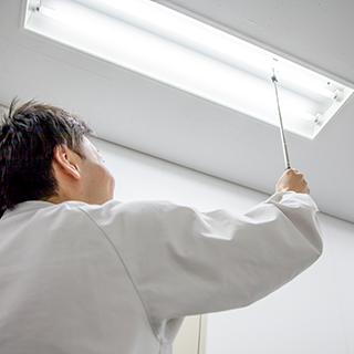 非常用照明装置検査イメージ